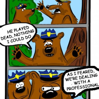 A Bear Cartoon — Bear Patrol #Cartoon