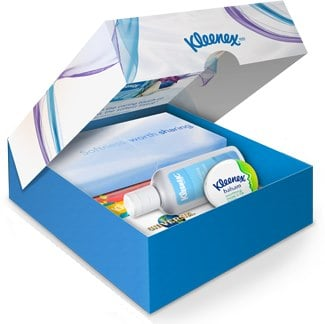 kleenex giveaways