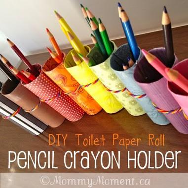 Pencil Crayon Holder