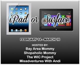 iPad/Microsoft Surface Tablet #Giveaway! {$499 value!}