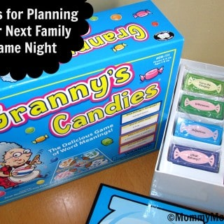3 Tips for Planning Your Next Family Game Night (Granny's Candies Game #Giveaway)