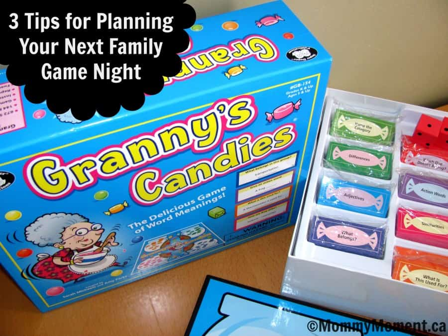 3 tips family game night