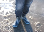 Bogs Boots Classic Mid Daisy