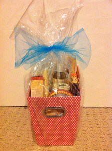 Burts Bees prize pack