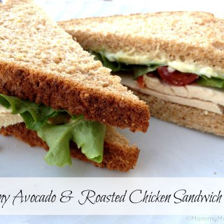 Creamy Avocado & Roasted Chicken Sandwich Recipe ~ @Dempsters #Giveaway