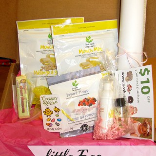 Little Eco Footprint Monthly Subscription Box & #Giveaway! {Can Only}