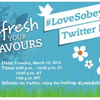 Refresh Your Flavours #LoveSobeys Twitter Party