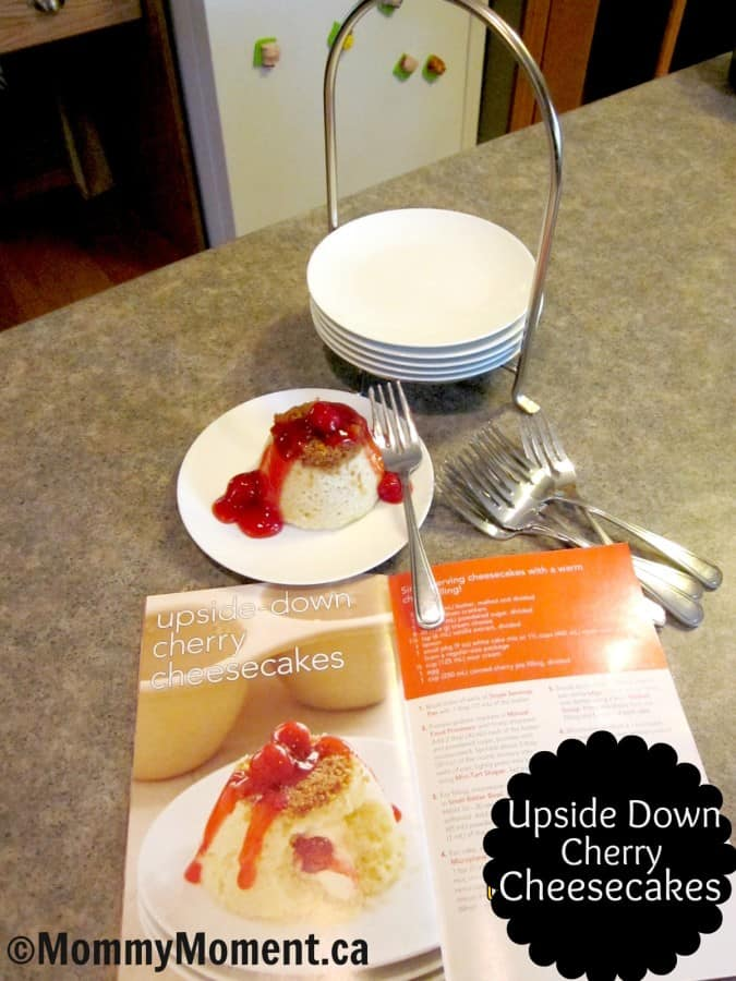 Pampered Chef Cheesecakes