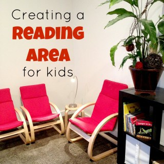 Creating a Reading Area for Kids