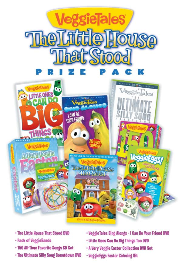 VeggieTales ~ The Little House That Stood & a $100 Prize Pack