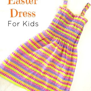 DIY Spring Dress for Kids