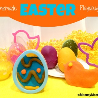 Homemade Easter Playdough