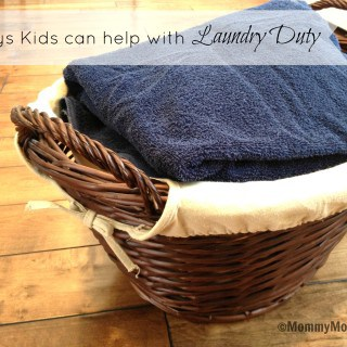 4 Ways Kids Can Help With Laundry Duty ~ #PGmom Sensitive Fabric Care Giveaway