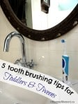 tooth brushing tips