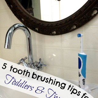 5 Tooth Brushing Tips from Toddlers to Tweens #PGMom