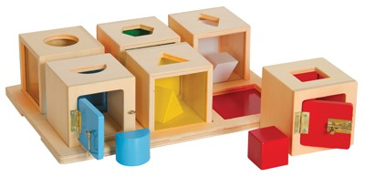 Guidecraft Peekabook Lock Boxes