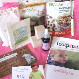 Little Eco Footprint ~ April Box