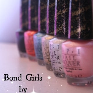 Get Your Toes Ready for Summer with the Bond Girls Collection from OPI #Giveaway