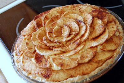 Apple Bavarian Cheesecake