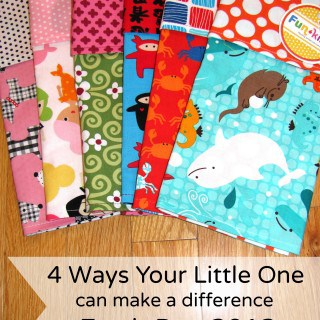 4 Ways Your Little One Can Make a Difference! Earth Day 2013 #Giveaway