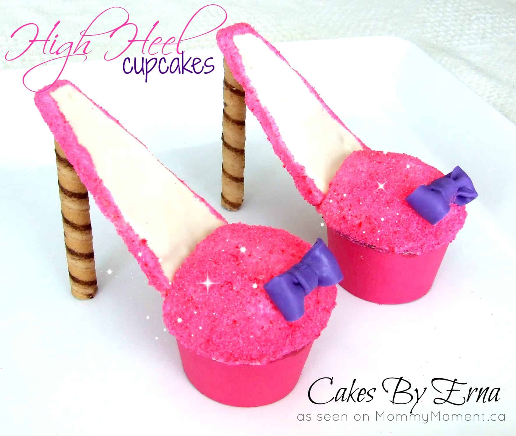 had a lot of fun with these high heel cupcakes