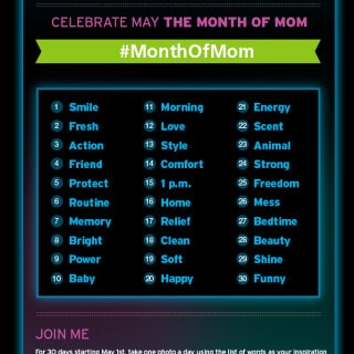 30-Day #MonthOfMom Photo Challenge ~ Will You Join Me?