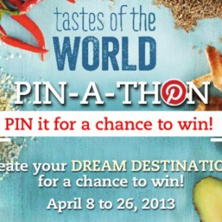 Sobeys Tastes of the World PIN-A-THON {Giveaway} #LoveSobeys