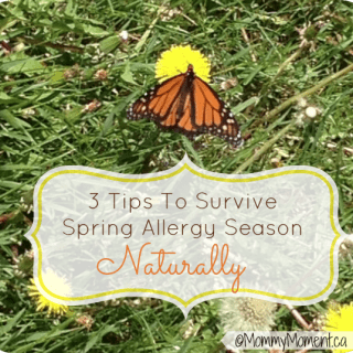 3 Tips To Survive Spring Allergy Season Naturally #Giveaway