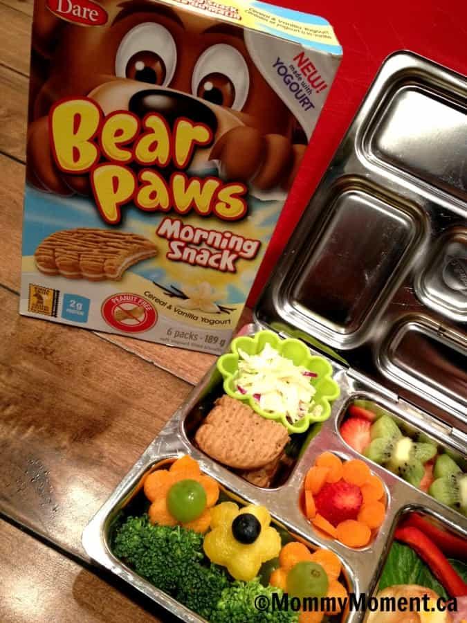 Bear Paws Morning Snacks