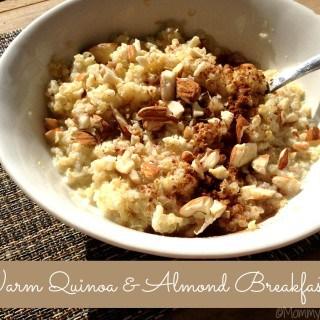 Warm Quinoa & Almond Breakfast