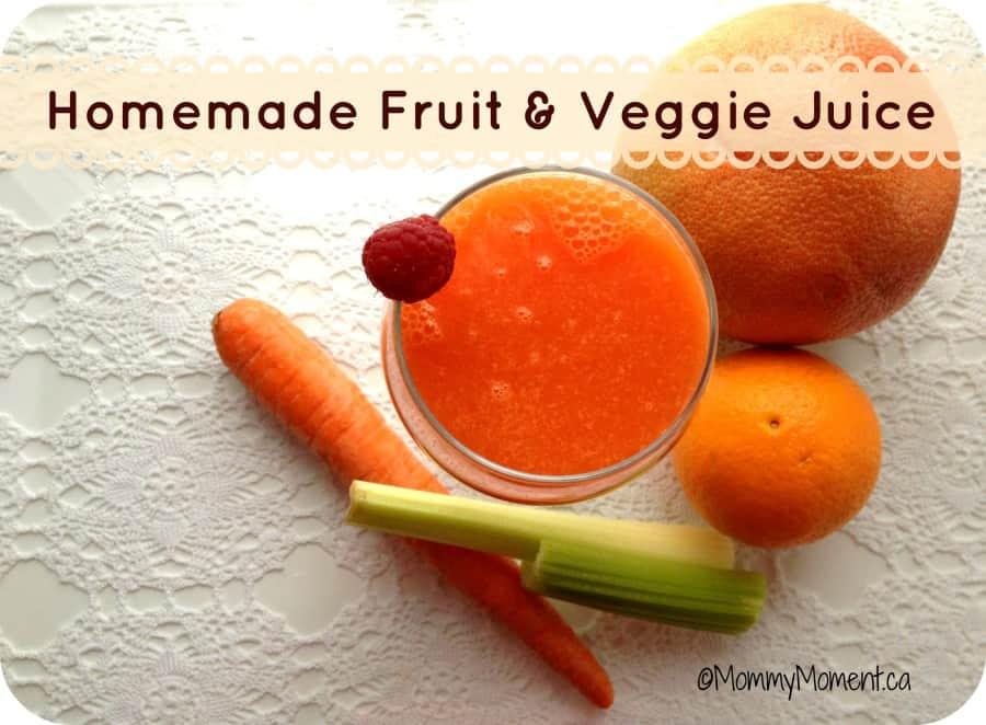 homemade juice