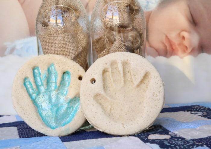 Diy Salt Dough Handprint Mommy Moment