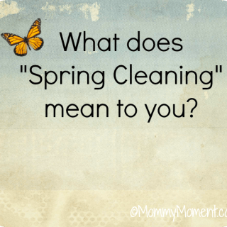 "What Does ""Spring Cleaning"" Mean to You?"