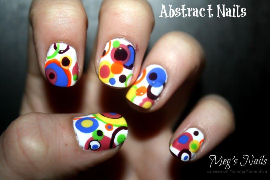 Abstract Nail Art ~ Meg\'s Nails