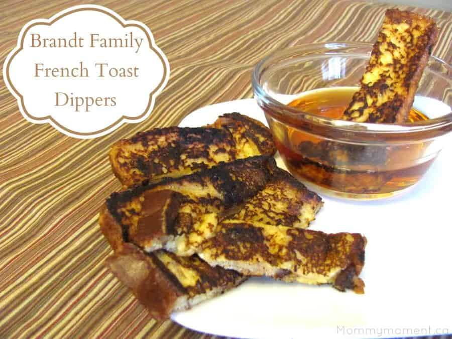 Brandt Family French Toast Dippers