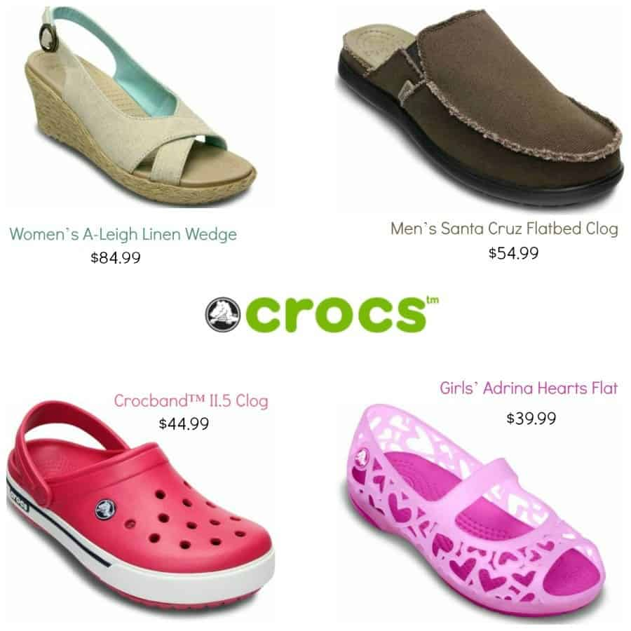 Crocs Collage