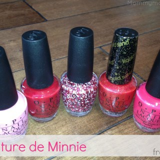 Couture de Minnie from OPI ~ #Giveaway {CAN}