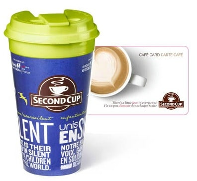 Second Cup Giveaway