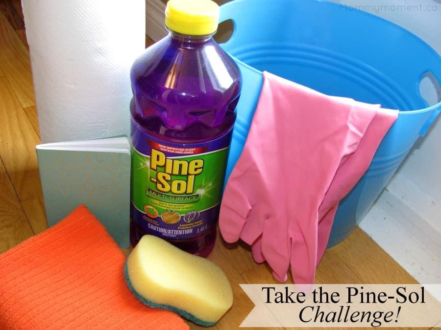Take the pine sol challenge