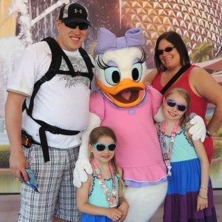 Meeting Daisy Duck At Walt Disney World