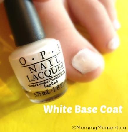 white base