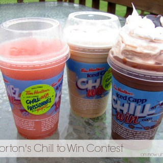 Cool Down with Tim Horton's Chill to Win Contest & $1 Drinks #Giveaway {CAN}