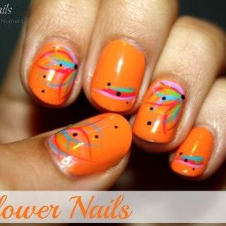 Flower Nails ~ Meg's Nails