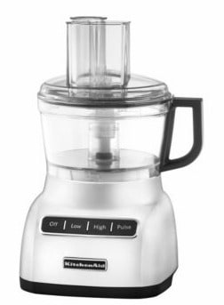 KitchenAid Food Processor silver