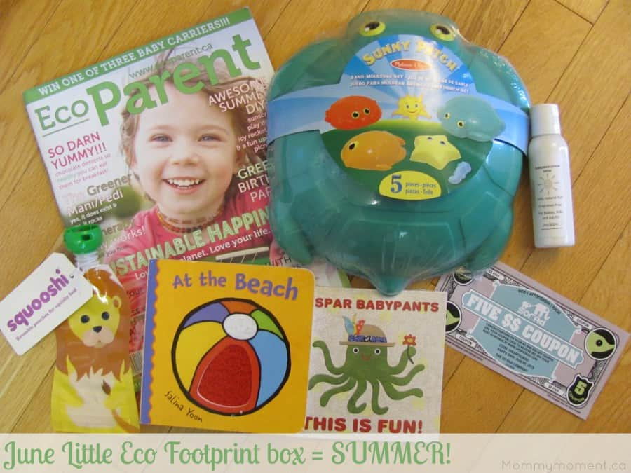 LIttle Eco Footprint June
