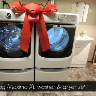 The Maytag Maxima XL Washer & Dryer Clean Even Your Biggest Messes! #MaytagBloggerChallenge
