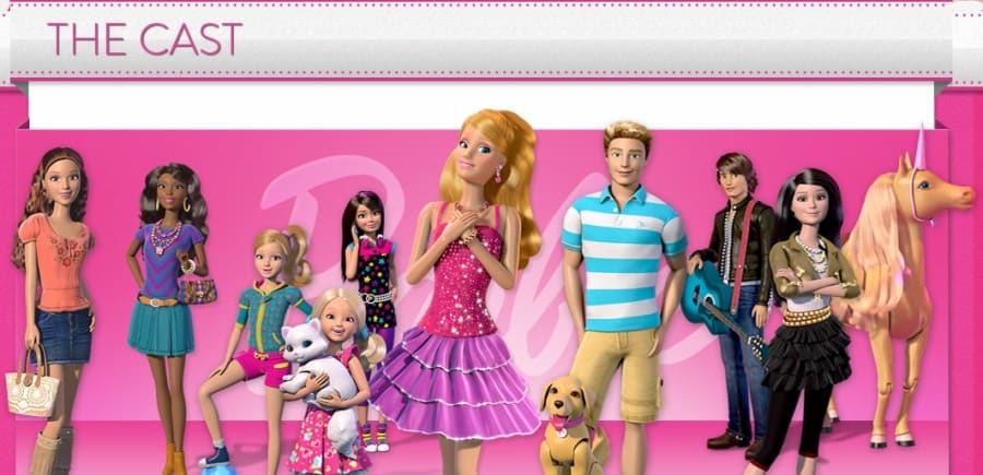 barbie life in the dream house meet cast of moonshiners