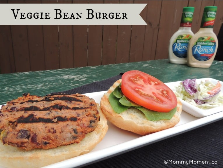 Vegitarian Bean Burger