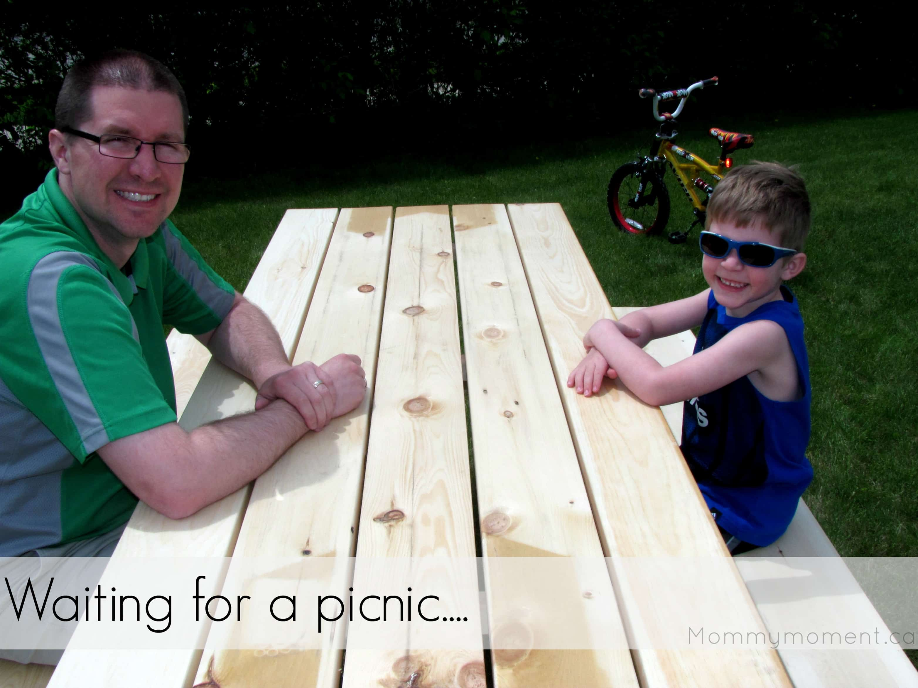 Waiting for a picnic