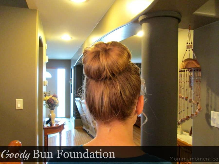 bun with goody bun foundation